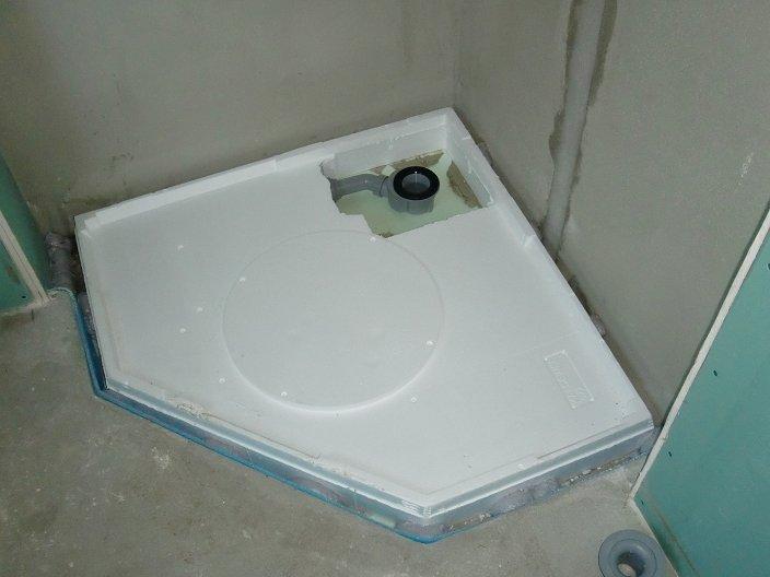 Dusche In Schr?ge Einbauen : Duschecke Erdgeschoss