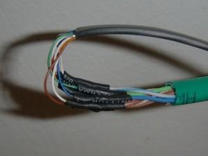 Gekürztes Kabel