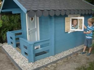 Bild der Hütte (Seite)