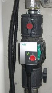 Neue Pumpe und neue Hähne/Ventile