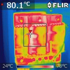 Wärmepumpen-Trafo (offen)